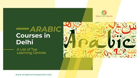 Arabic Courses in Delhi