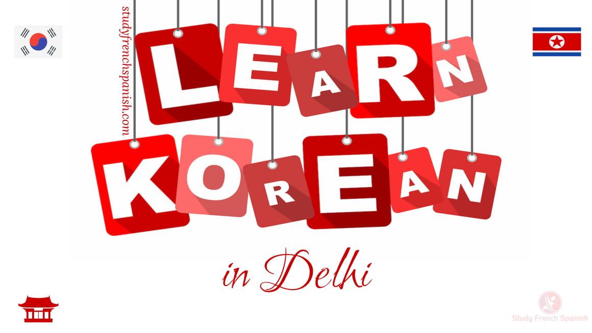 Korean Courses in Delhi