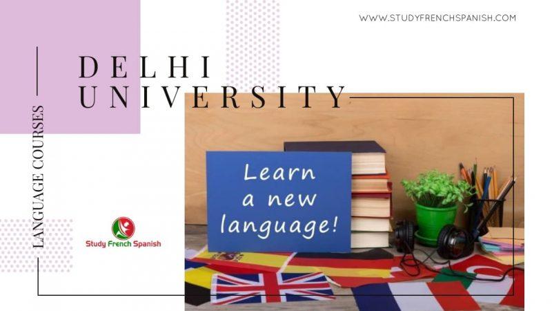 Delhi University Language Courses