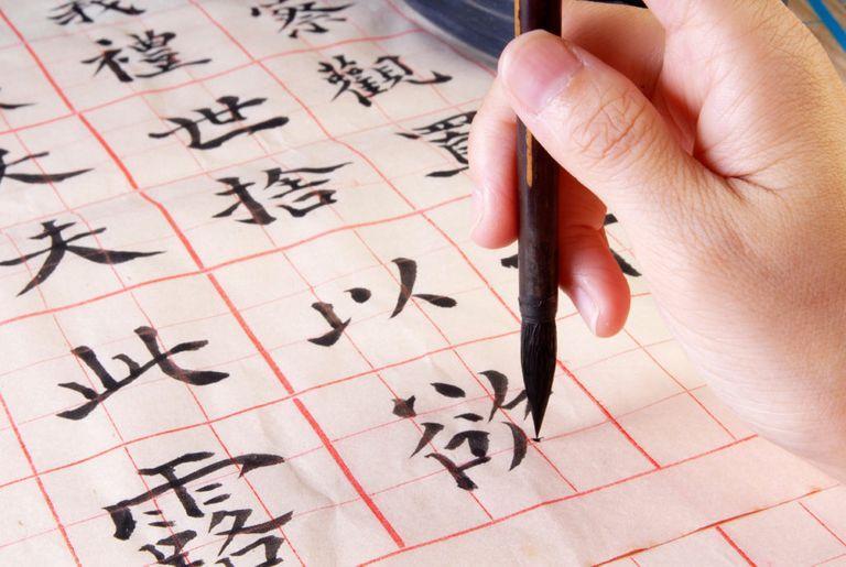 Japanese Kanji Script