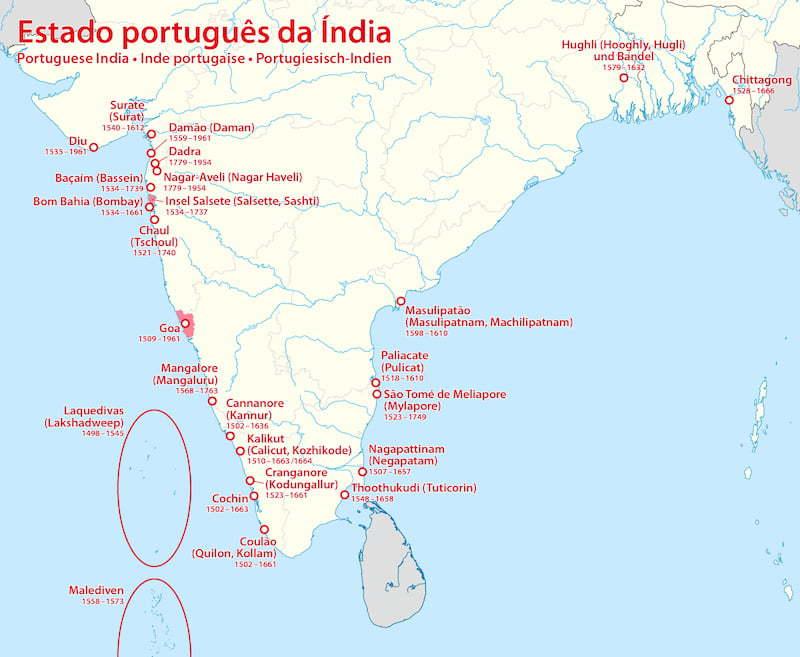Portuguese in India