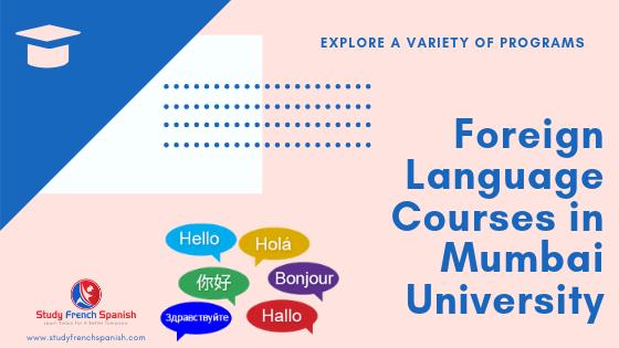Language Courses in Mumbai University