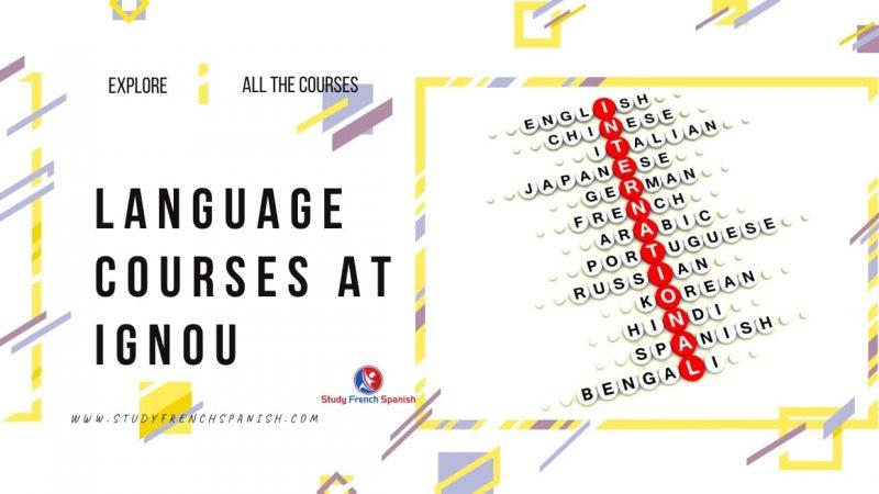 Language Courses IGNOU
