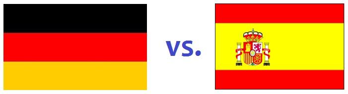 German or Spanish
