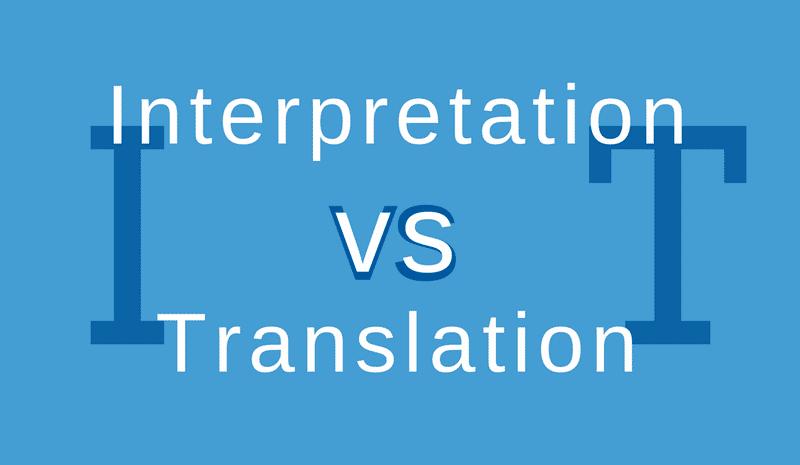 translator vs interpreter