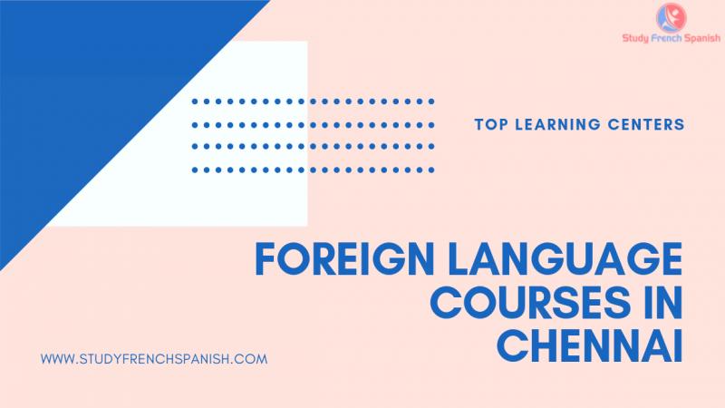 Language Courses Chennai