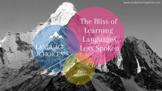 less taught languages