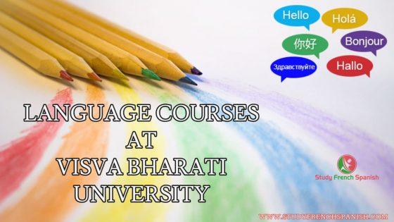 Visva Bharati Language Courses