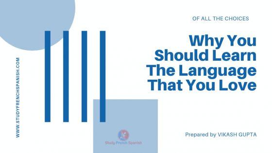 learn language you love