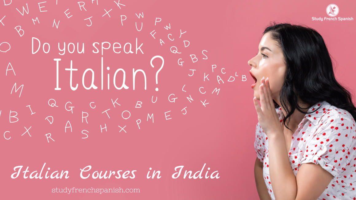 Italian courses India