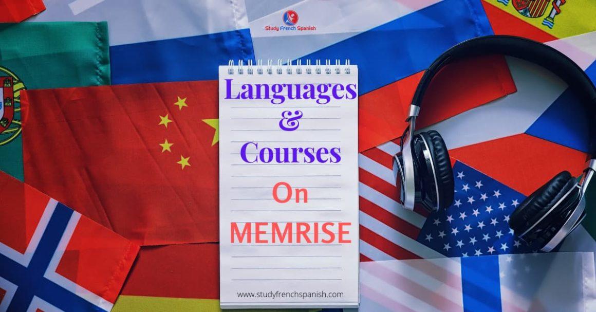 memrise language courses
